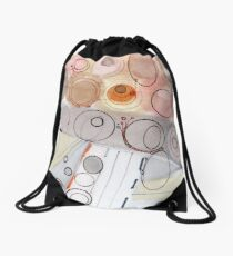 Ultra Light - ink drawing Drawstring Bag
