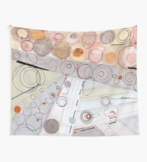 Ultra Light - ink drawing Wall Tapestry