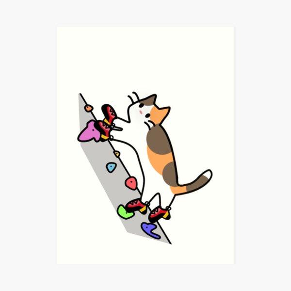Pies de Gato (no words) Art Print