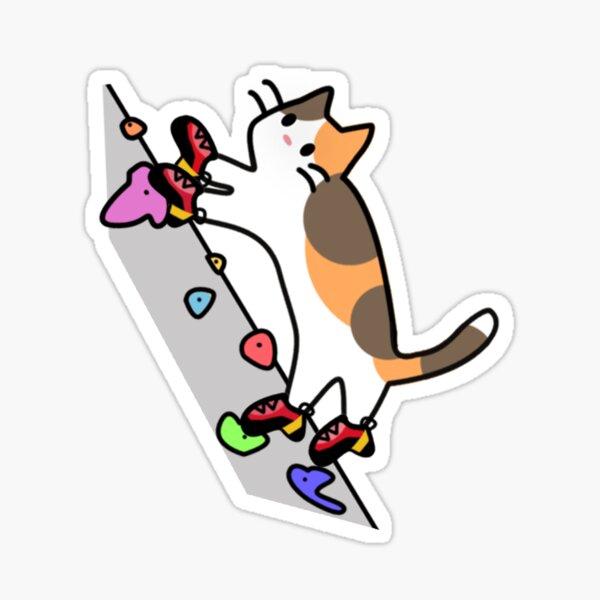 Pies de Gato (no words) Sticker