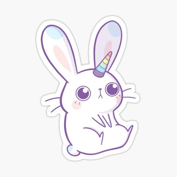 Rainbow Bunnycorn Sticker