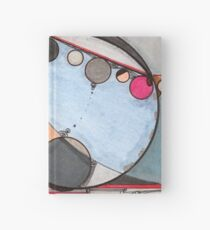 Slits and Mirrors, Ink drawing Hardcover Journal