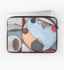 Slits and Mirrors, Ink drawing Laptop Sleeve