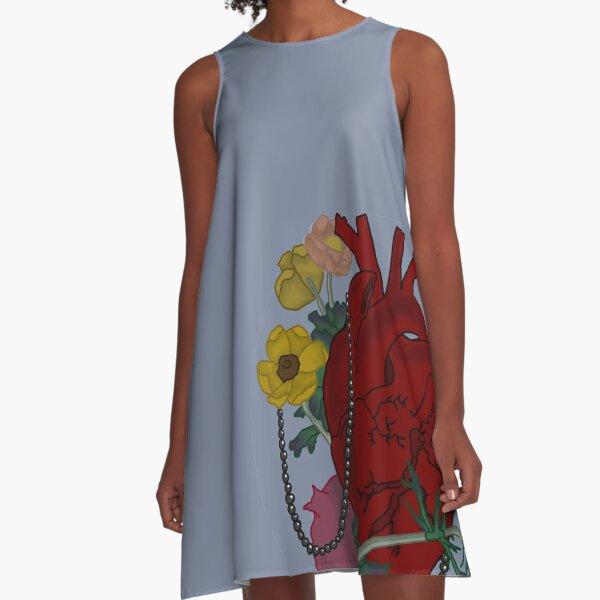 Rotting Heart A-Line Dress