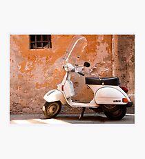 Iconic Vespa Photographic Print