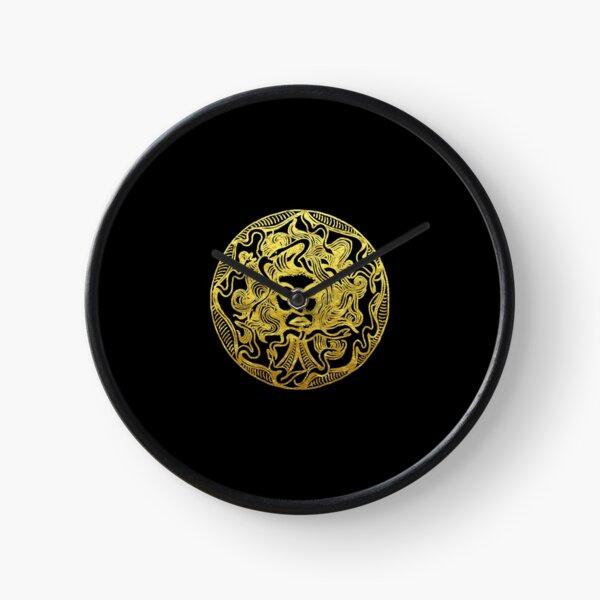 Medusa Gold  Clock