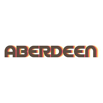 Aberdeen Retro by designkitsch