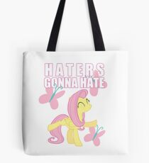 Fluttershy and butterflies Tote Bag