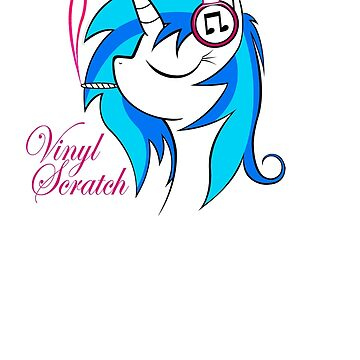 Vinyl Scratch (w/ smoke) by NorthernDash