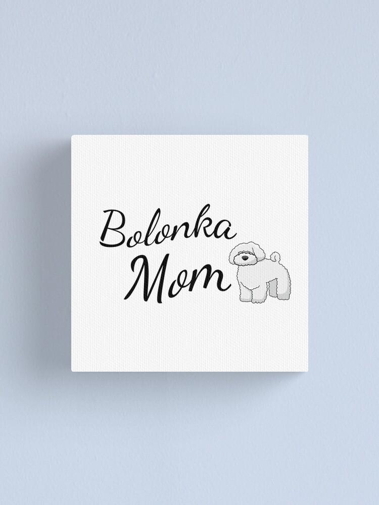 Alternate view of Bolonka Mom Canvas Print