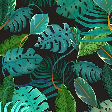 tropical leaves by franciscomff