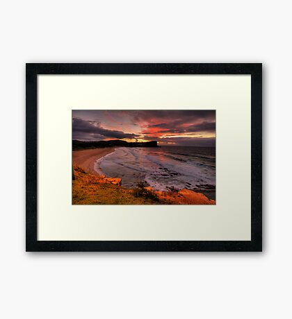 There Will Always Be A Avalon ! - Avalon Beach, Sydney - The HDR Experience Framed Print