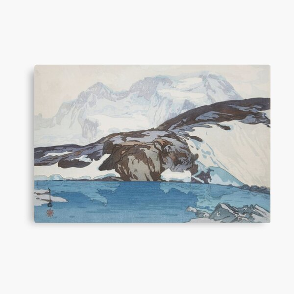 Breithorn by Yoshida Hiroshi Canvas Print