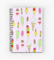 Ice Lolly Heaven Spiral Notebook