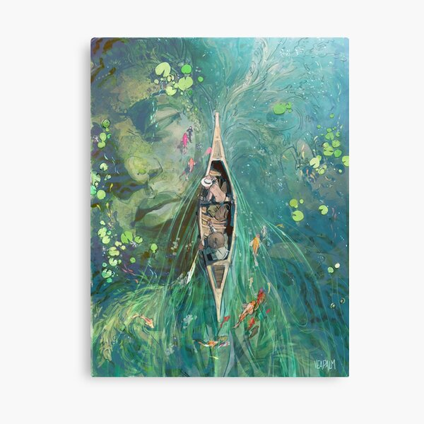 Beneath the Lillies  Canvas Print