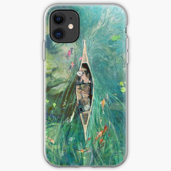 Beneath the Lillies  iPhone Soft Case