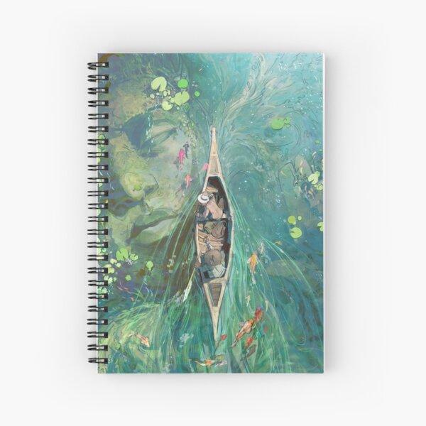 Beneath the Lillies  Spiral Notebook