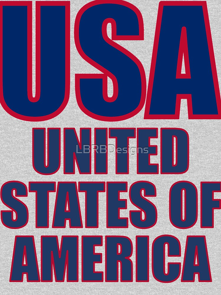 4301-USA-United States von LBRBDesigns