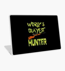 Hunter product - World's Okayest - Gifts for Hunting Laptop Skin