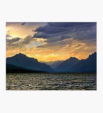 Lake MacDonald Evening Photographic Print
