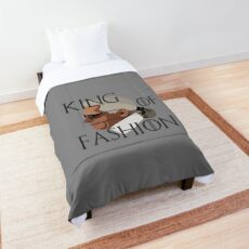 R.I.P. Karl Lagerfeld Comforter