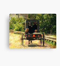 Summer Ride Canvas Print