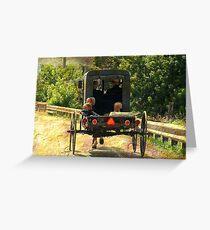 Summer Ride Greeting Card