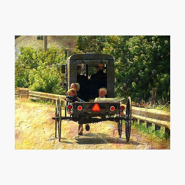 Summer Ride Photographic Print
