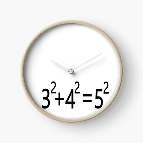 3²+4²=5² Clock