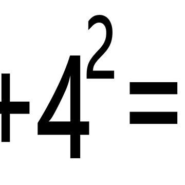 3²+4²=5² by znamenski