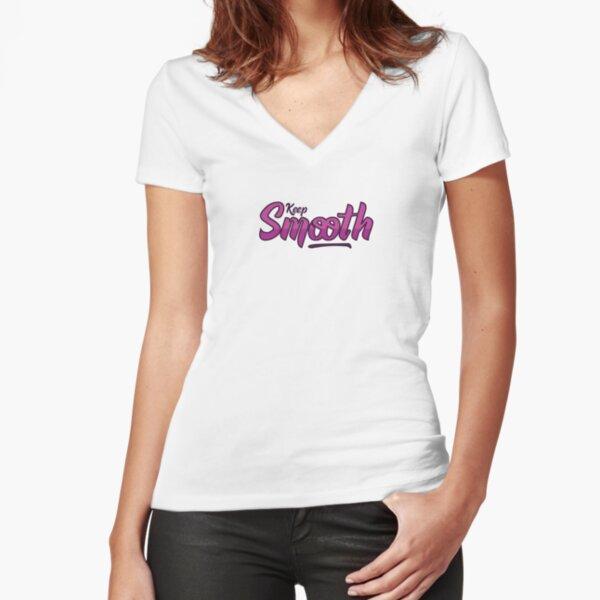 Keep Smooth T-shirt moulant col V