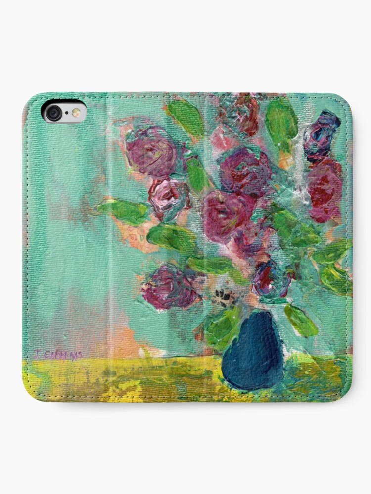 Alternate view of Spring Bouquet 1 iPhone Wallet