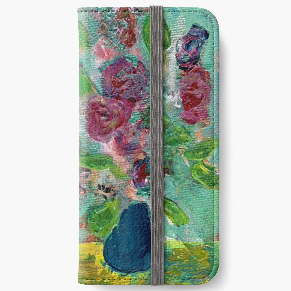 Spring Bouquet 1 iPhone Wallet