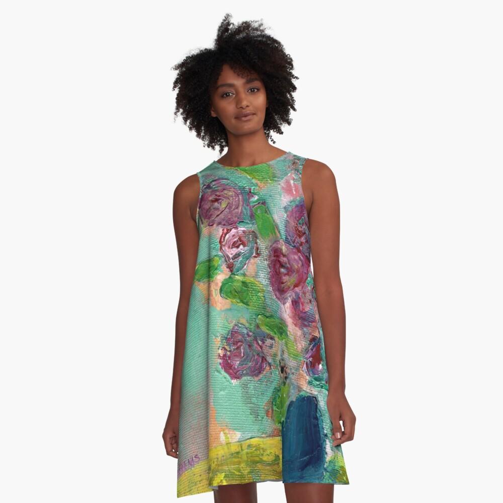 Spring Bouquet 1 A-Line Dress