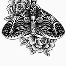 « Conception de tatouage chouette » par nykiway