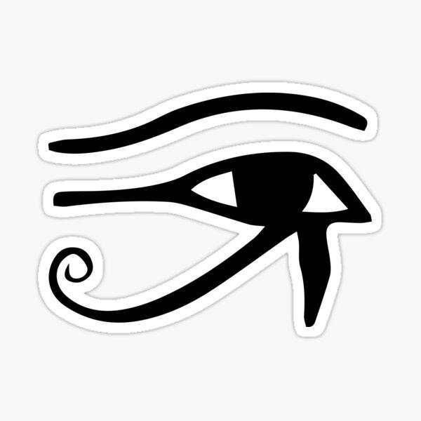 Eye of Horus Egyptian Hieroglyph Symbol Sticker