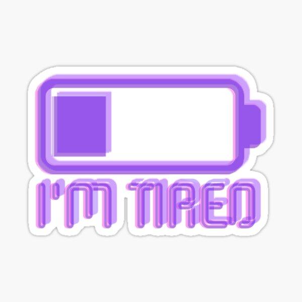 recharge Sticker