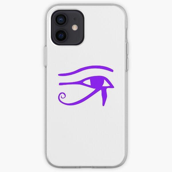 Eye of Horus Egyptian Hieroglyph Symbol iPhone Soft Case