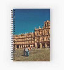 Cuaderno de espiral Spain. Salamanca. Plaza Mayor.