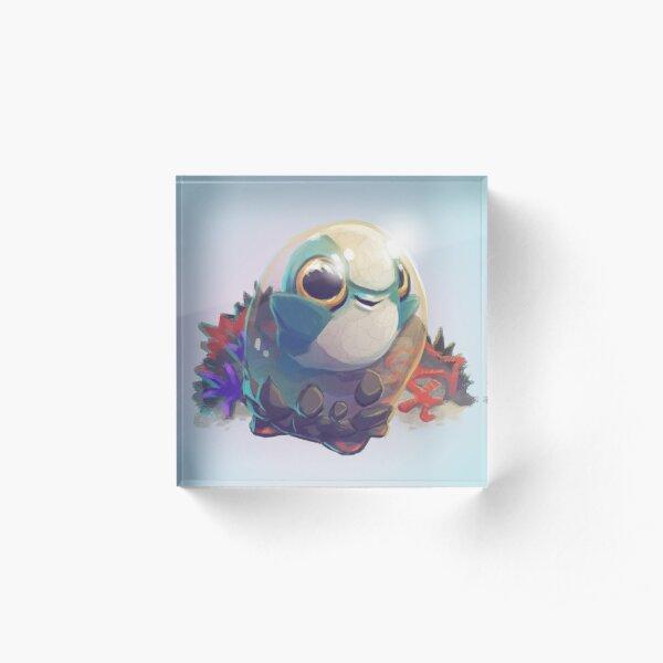Cuddlefish Baby - Subnautica Acrylic Block