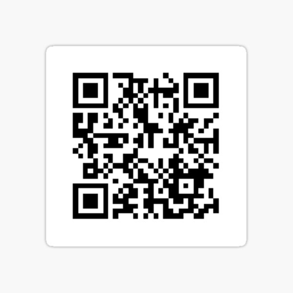 Aggie War Hymn QR Code Sticker