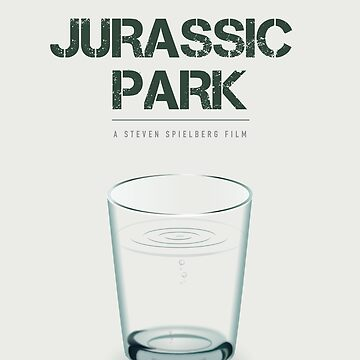 Jurassic Park - Alternative Movie Poster by MoviePosterBoy