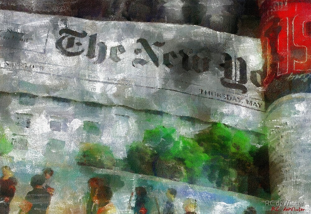 There Is No News Fit to Print by RC deWinter
