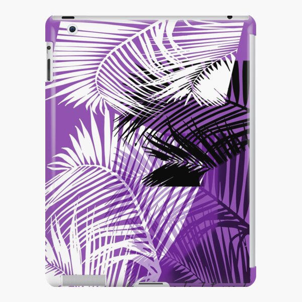 Passionate Purple Palms iPad Snap Case