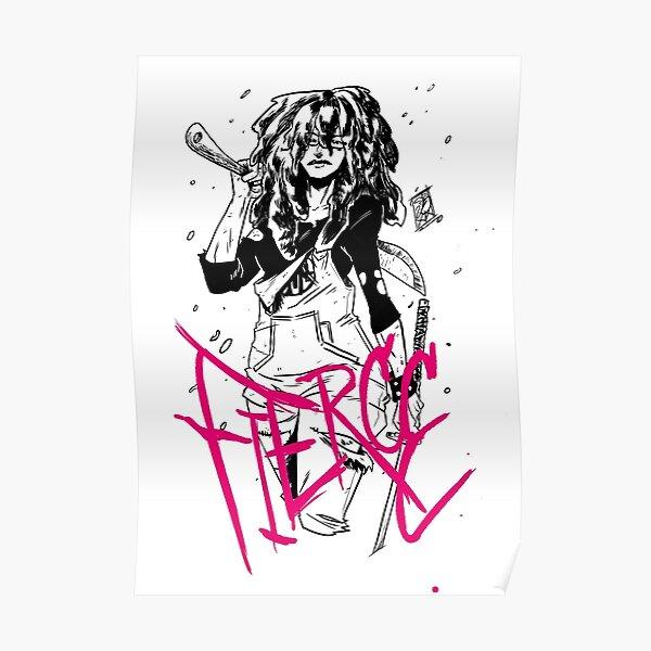 Fierce Female Posters Redbubble