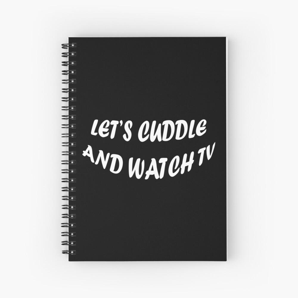 Abrazemos y veamos televisión Cuaderno de espiral