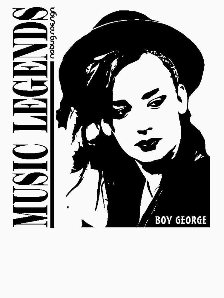 MUSIC LEGENDS - BOY GEORGE | Unisex T-Shirt