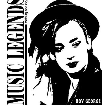 MUSIC LEGENDS - BOY GEORGE by nobugs
