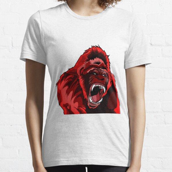 Red King Kong Gorilla Essential T-Shirt
