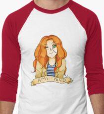 Amy Pond Men's Baseball ¾ T-Shirt